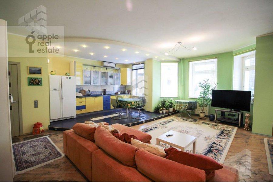 Living room of the 1-room apartment at Gilyarovskogo ul. 62