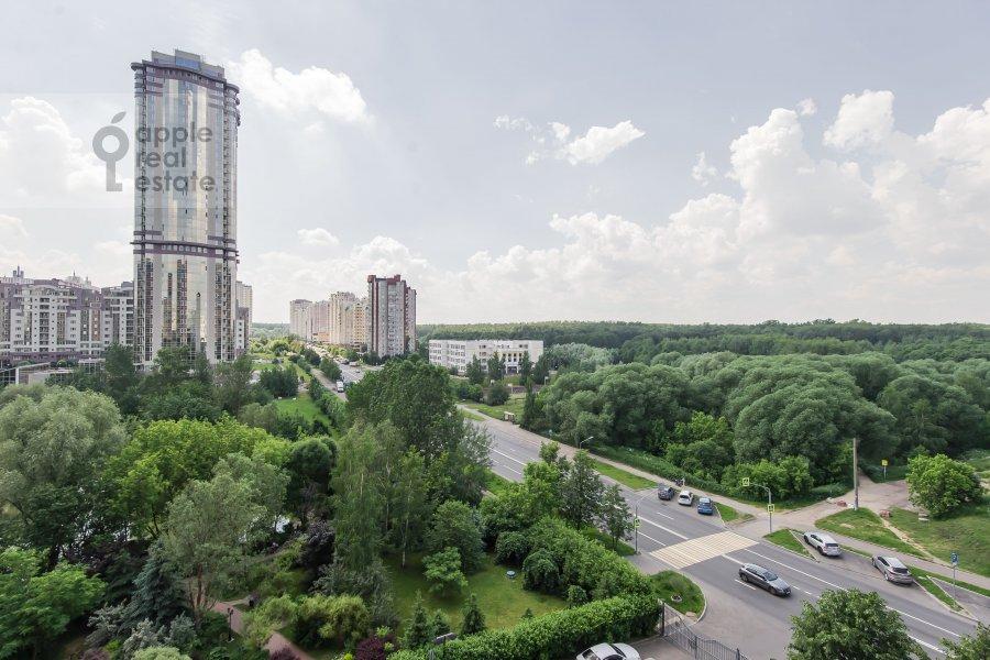 Вид из окна в 4-комнатной квартире по адресу ЖК Корона пр Вернадского 92