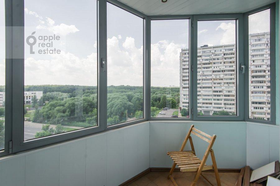 Балкон / Терраса / Лоджия в 4-комнатной квартире по адресу ЖК Корона пр Вернадского 92