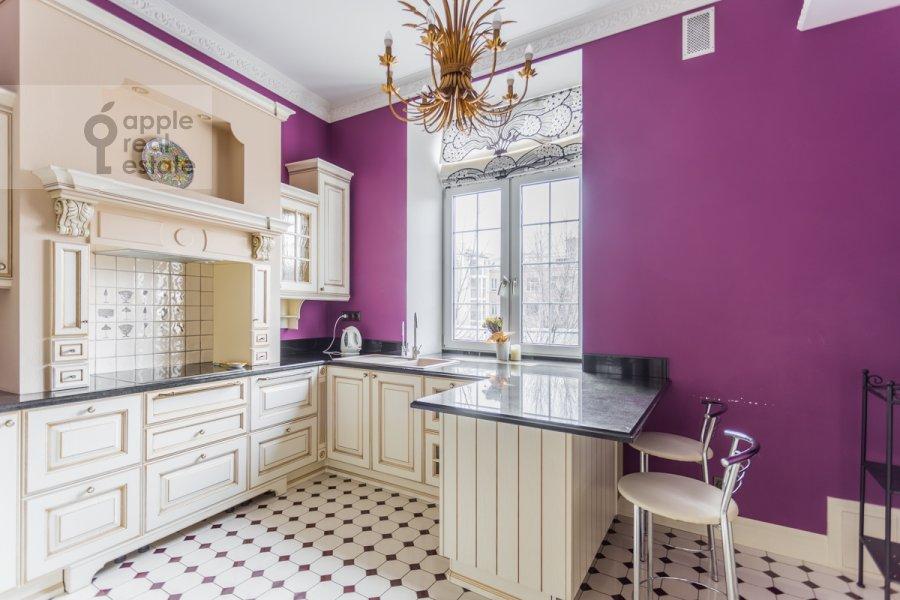 Кухня в 5-комнатной квартире по адресу Сеченовский пер. 7