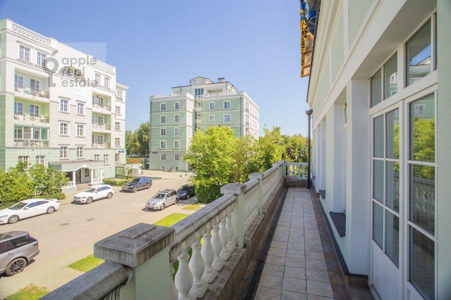 Balcony / Terrace / Loggia of the 6-room apartment at Beregovaya ul. 8
