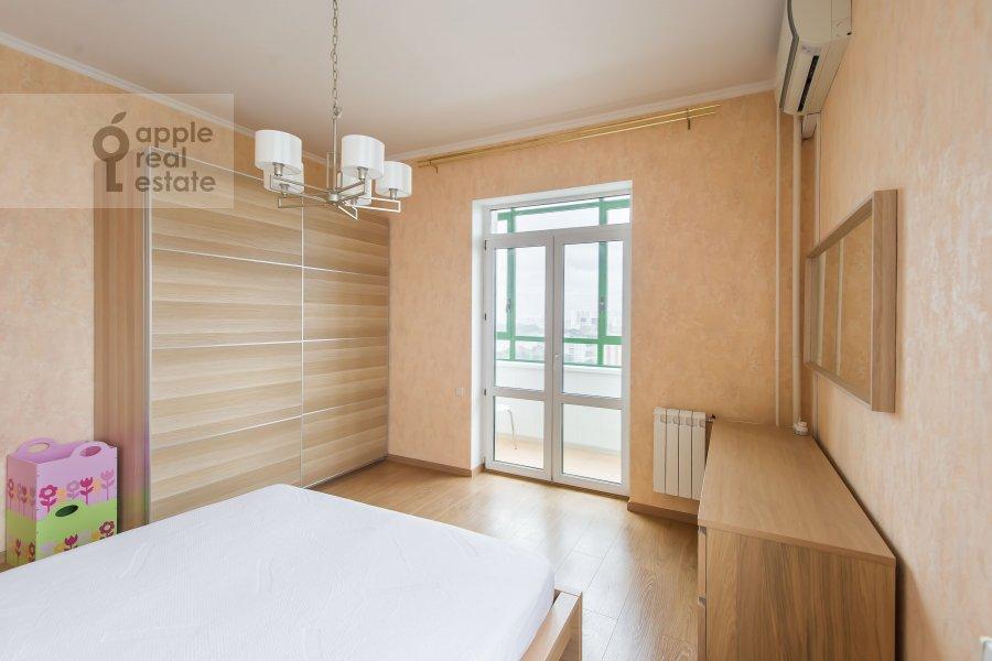 Спальня в 3-комнатной квартире по адресу Клары Цеткин 18бк1