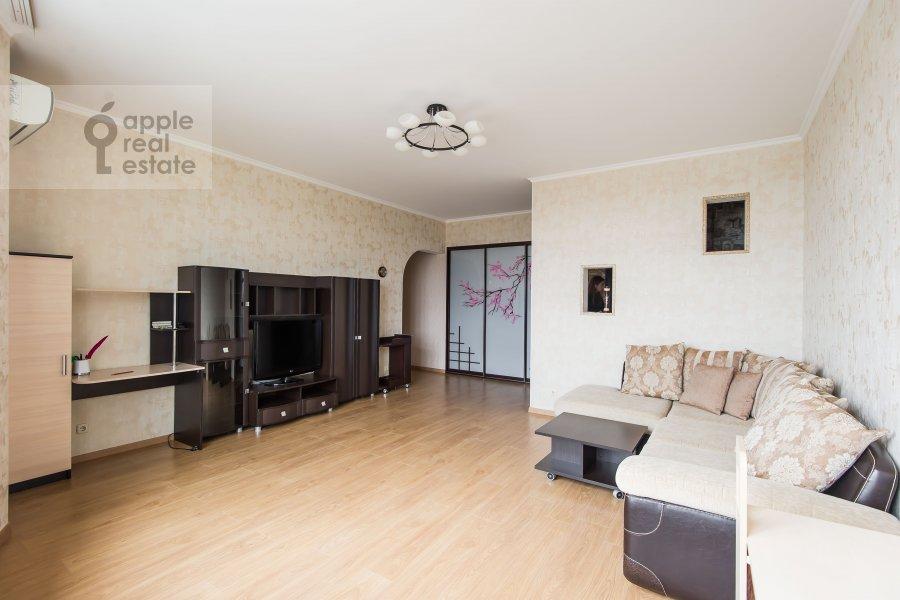 Гостиная в 3-комнатной квартире по адресу Клары Цеткин 18бк1