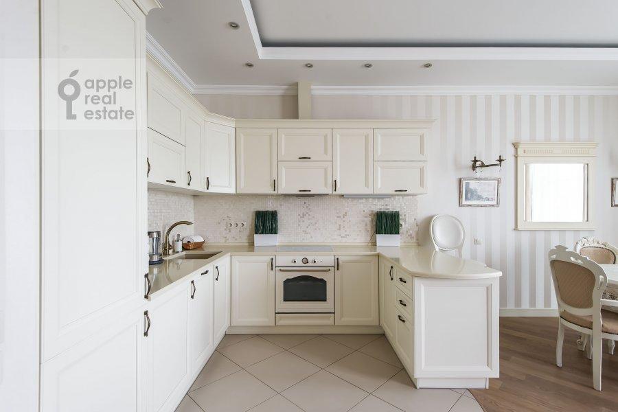 Kitchen of the 2-room apartment at Mytnaya ulitsa 7s1