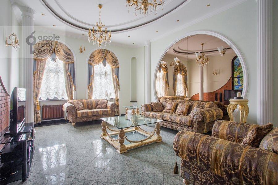 Гостиная в 3-комнатной квартире по адресу Погорельский пер. 6