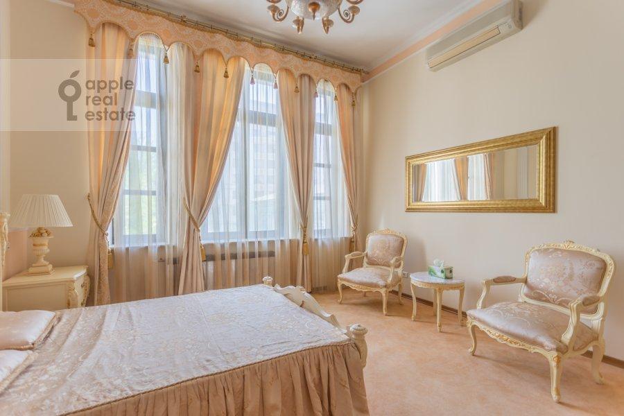 Спальня в 3-комнатной квартире по адресу Погорельский пер. 6