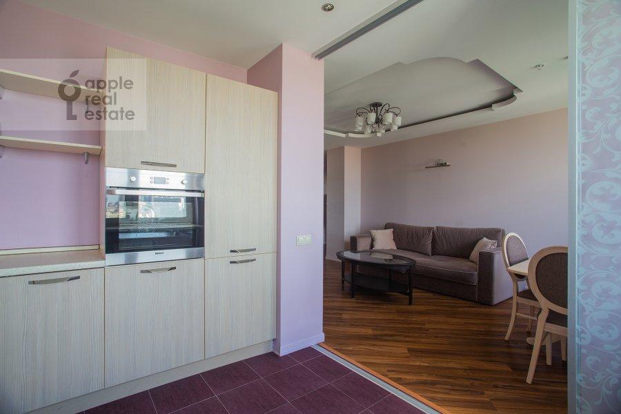 Кухня в 3-комнатной квартире по адресу Хорошевское шоссе 12с1