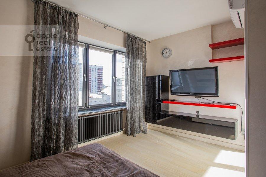 Спальня в 1-комнатной квартире по адресу Малый Левшинский переулок 5