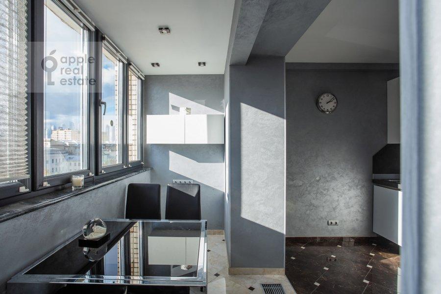 Гостиная в 1-комнатной квартире по адресу Малый Левшинский переулок 5
