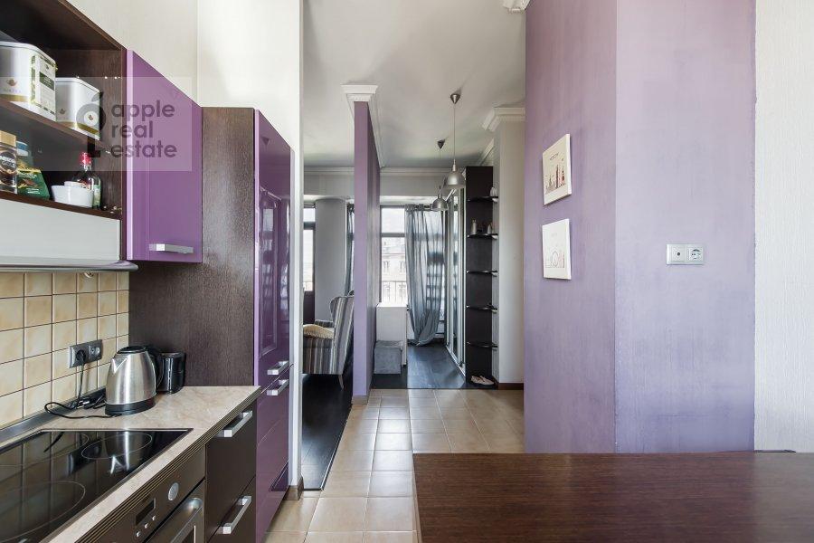 Kitchen of the 3-room apartment at Serafimovicha 2