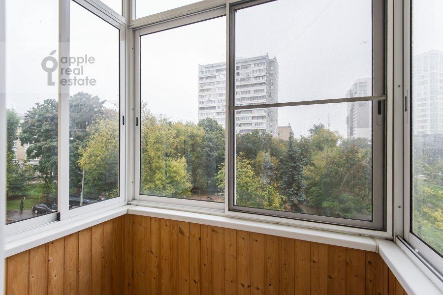 Балкон / Терраса / Лоджия в 2-комнатной квартире по адресу Ленинский пр-т. 37