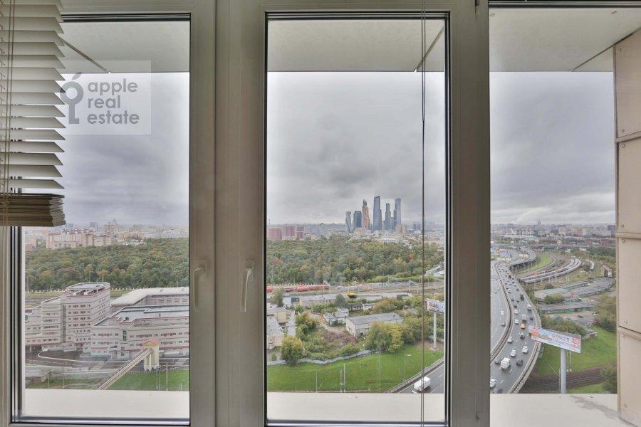 Балкон / Терраса / Лоджия в 2-комнатной квартире по адресу Хорошевское шоссе 16к2