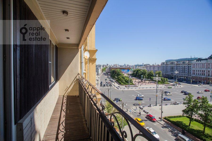 Балкон / Терраса / Лоджия в 4-комнатной квартире по адресу Бронная Большая ул. 29