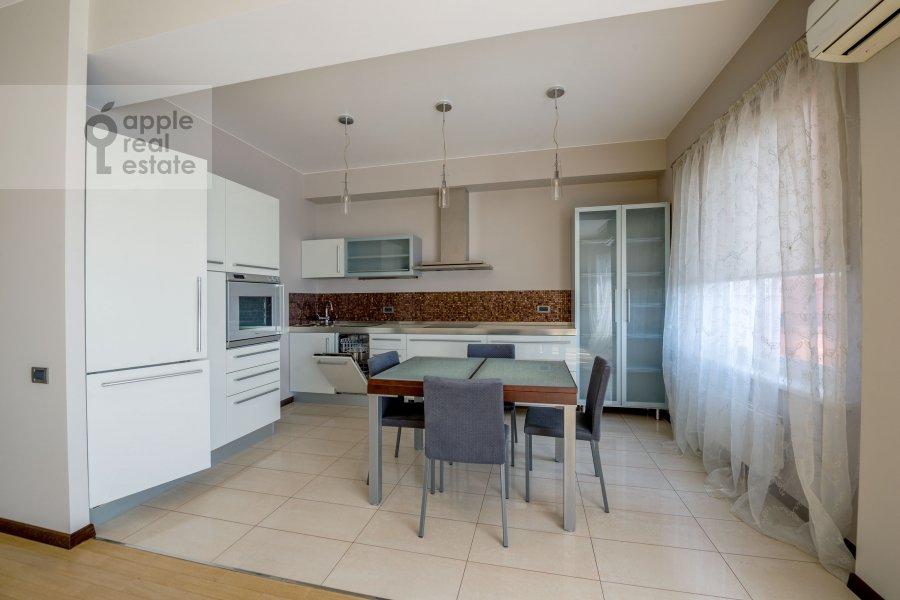 Kitchen of the 3-room apartment at Molodogvardeyskaya ulitsa 2k3