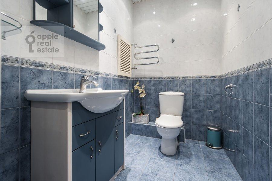 Bathroom of the 3-room apartment at Tverskaya-Yamskaya 2-ya ul. 26