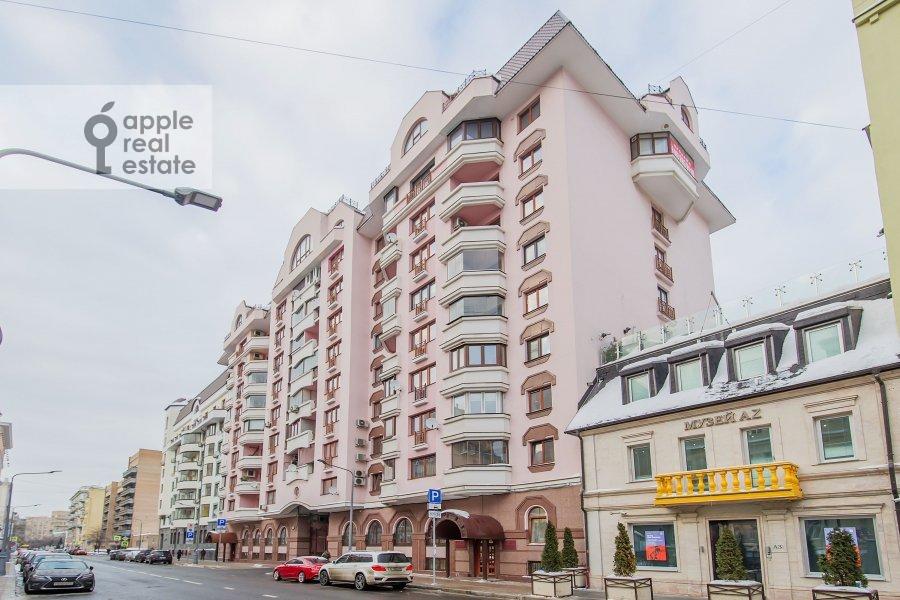 Photo of the house of the 3-room apartment at Tverskaya-Yamskaya 2-ya ul. 26