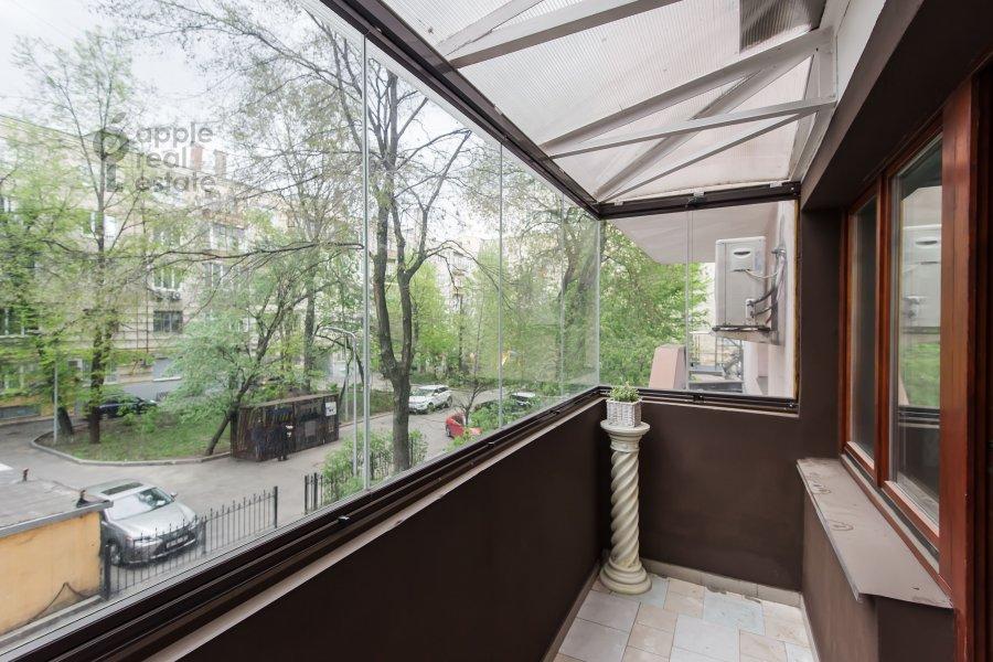 Балкон / Терраса / Лоджия в 3-комнатной квартире по адресу Тверская-Ямская 2-я ул. 26