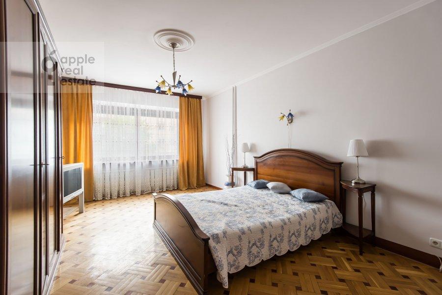 Bedroom of the 3-room apartment at Tverskaya-Yamskaya 2-ya ul. 26