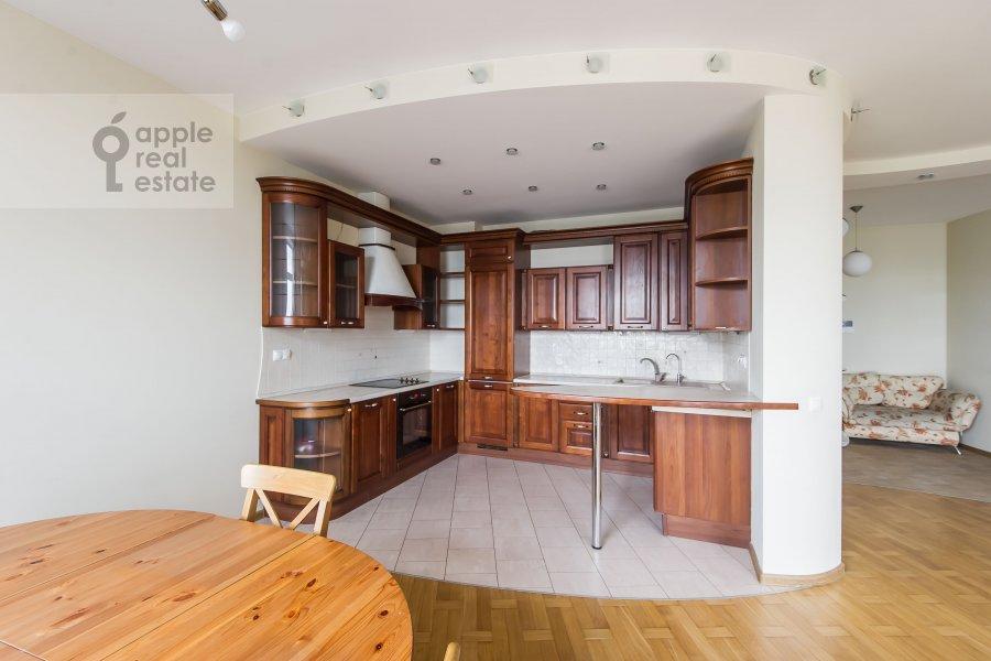Кухня в 3-комнатной квартире по адресу Лобачевского ул. 92к4