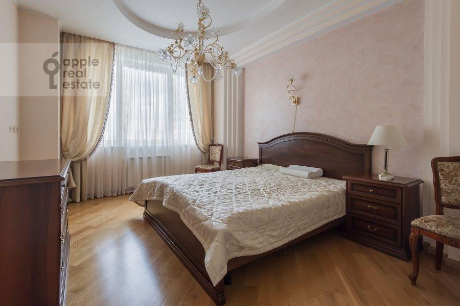 Спальня в 3-комнатной квартире по адресу Шаболовка 23к4