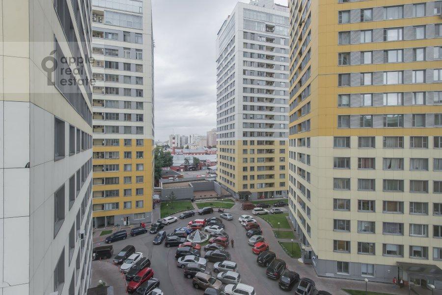 Вид из окна в 3-комнатной квартире по адресу Шаболовка 23к4
