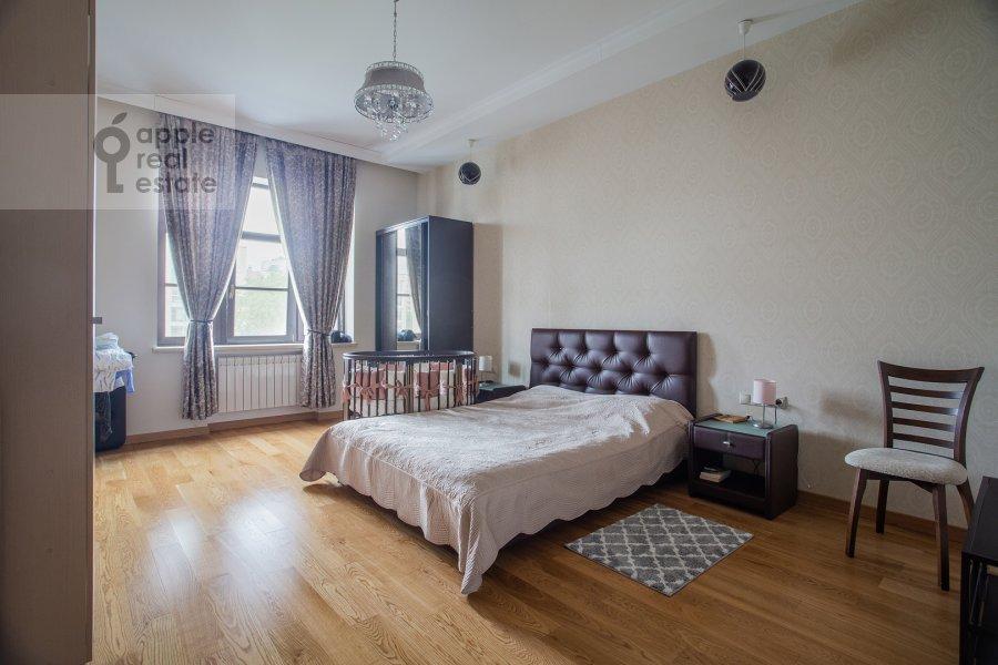 Bedroom of the 3-room apartment at Fadeeva ul. 4a