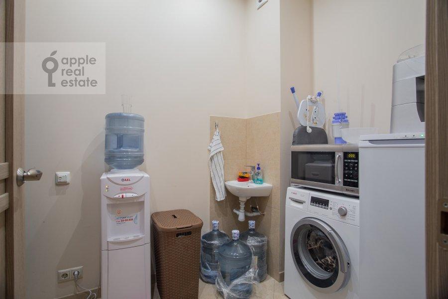 Walk-in closet / Laundry room / Storage room of the 3-room apartment at Fadeeva ul. 4a
