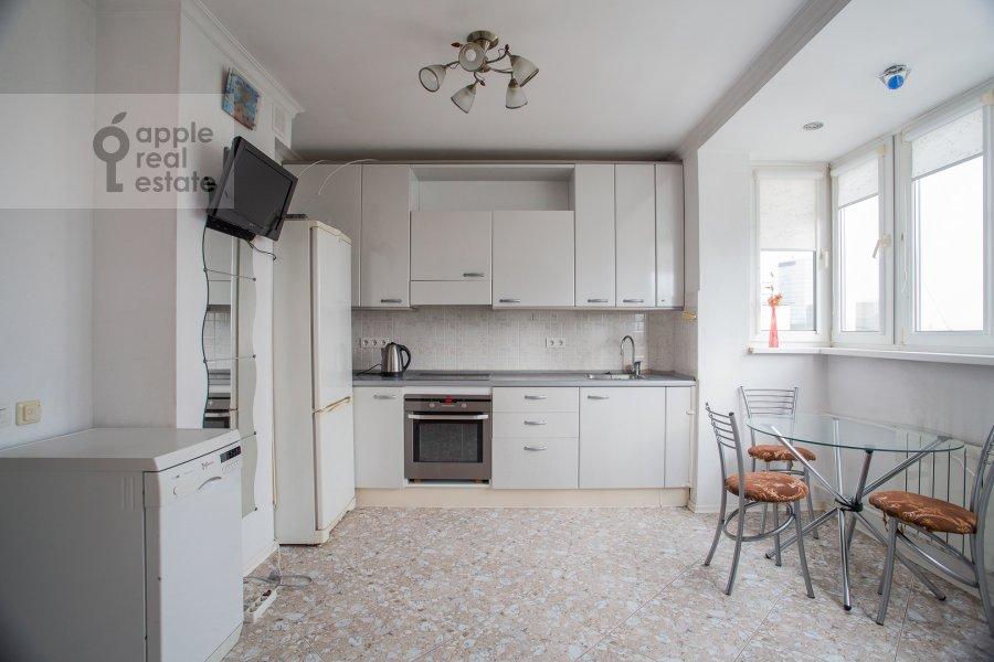 Kitchen of the 4-room apartment at Sergeya Makeeva 1