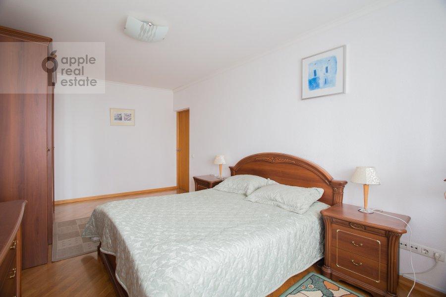 Bedroom of the 4-room apartment at Sergeya Makeeva 1