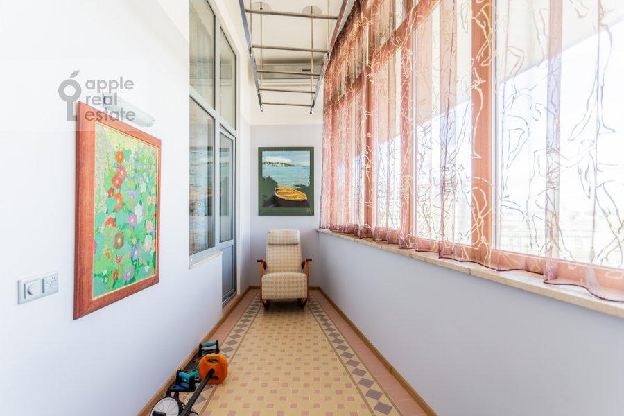 Balcony / Terrace / Loggia of the 6-room apartment at Shabolovka ul. 23k1