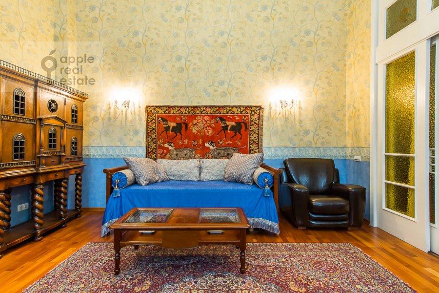 Bedroom of the 5-room apartment at Sechenovskiy pereulok 7