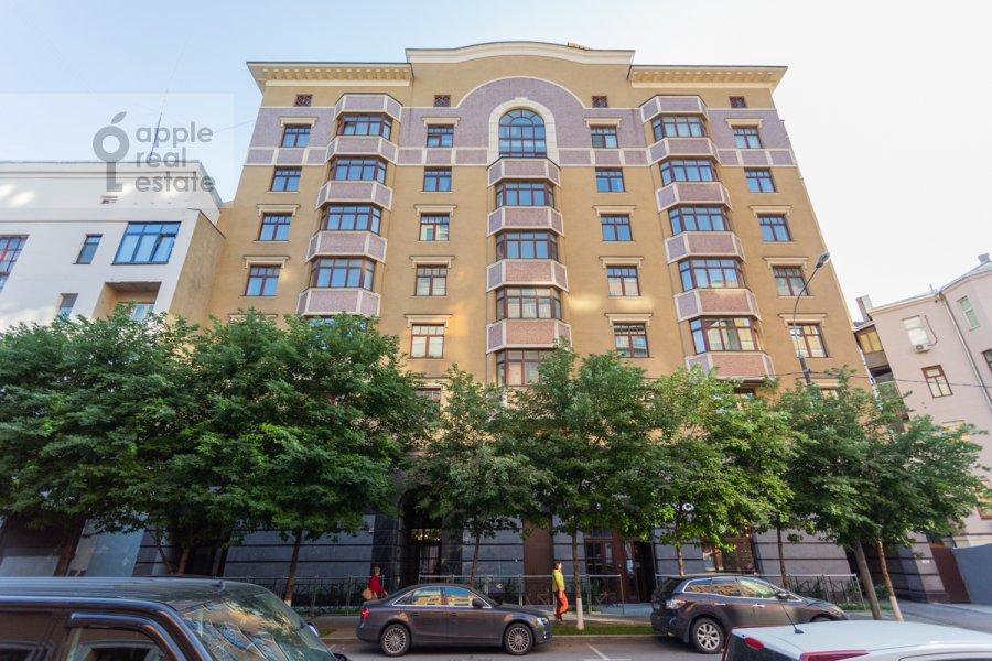 Photo of the house of the 4-room apartment at 3-ya Tverskaya-Yamskaya ulitsa 25
