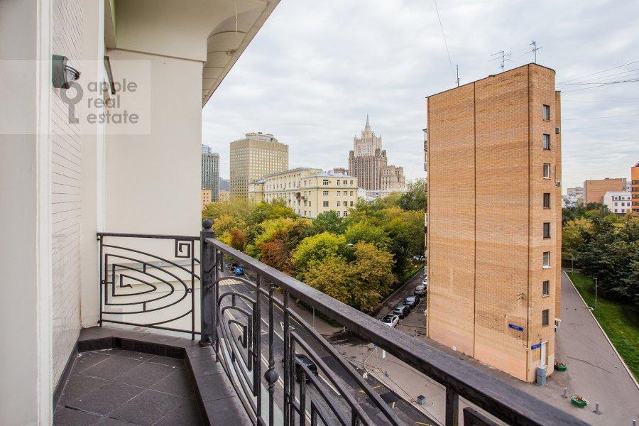 Балкон / Терраса / Лоджия в 5-комнатной квартире по адресу Плющиха 22