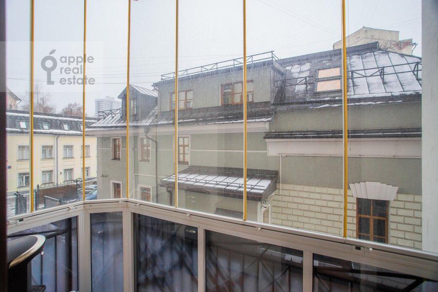 Balcony / Terrace / Loggia of the 4-room apartment at Trubnikovskiy per. 30s1