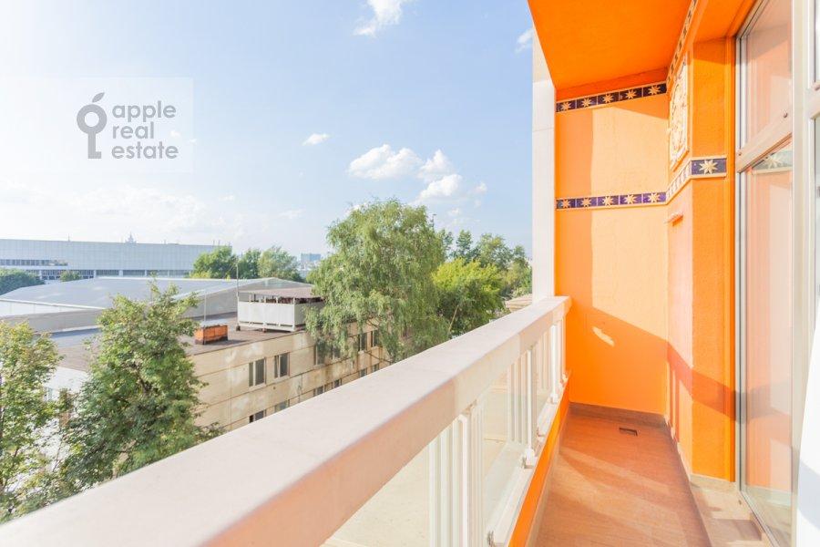 Балкон / Терраса / Лоджия в 4-комнатной квартире по адресу Якиманский переулок 6
