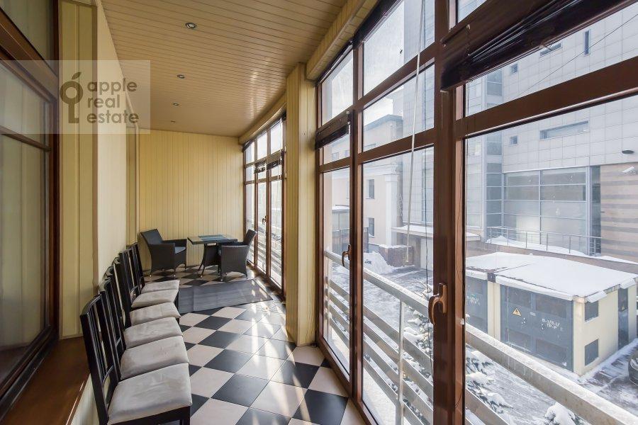 Балкон / Терраса / Лоджия в 3-комнатной квартире по адресу Дмитровский пер. 7