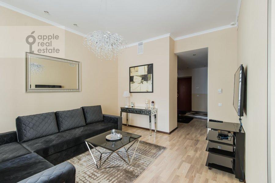Гостиная в 3-комнатной квартире по адресу Дмитровский пер. 7