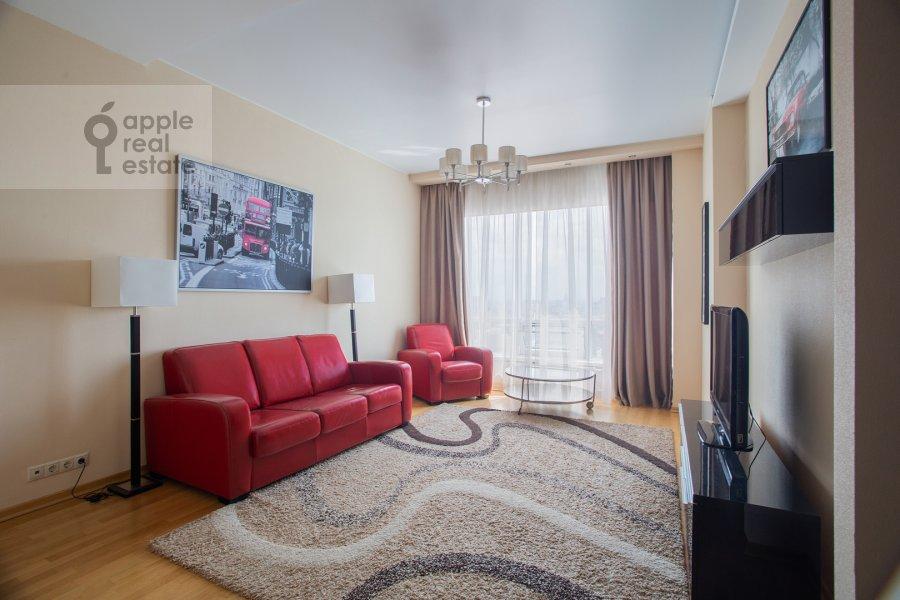 Гостиная в 3-комнатной квартире по адресу Кочновский пр. 4к2