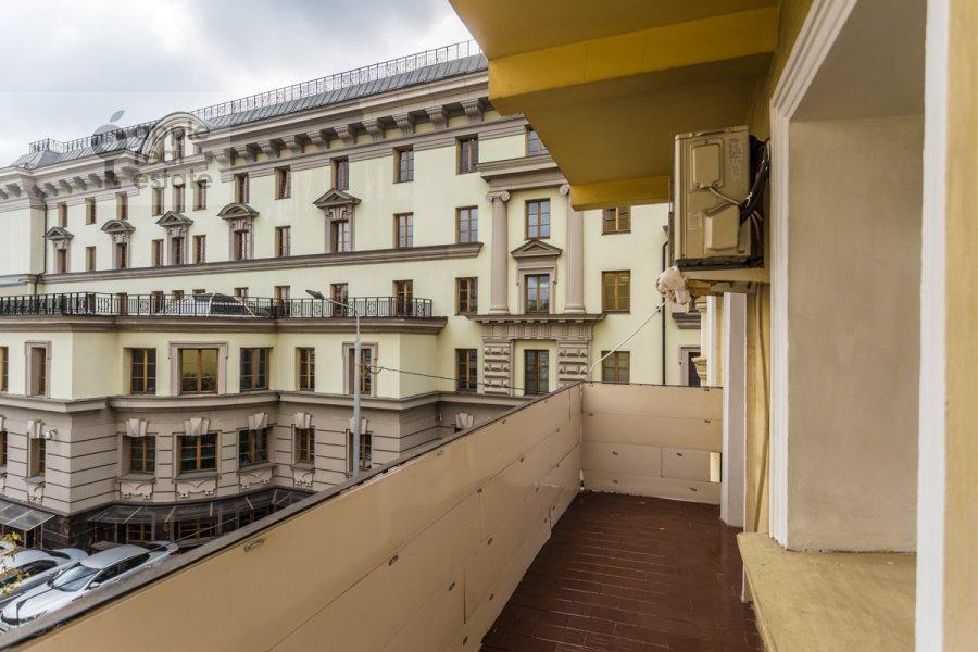 Balcony / Terrace / Loggia of the 2-room apartment at Ordynka Malaya ul. 13s1a