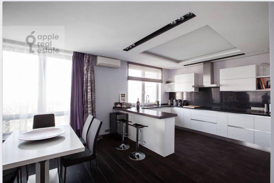 Kitchen of the 3-room apartment at Kozlova ul. 34