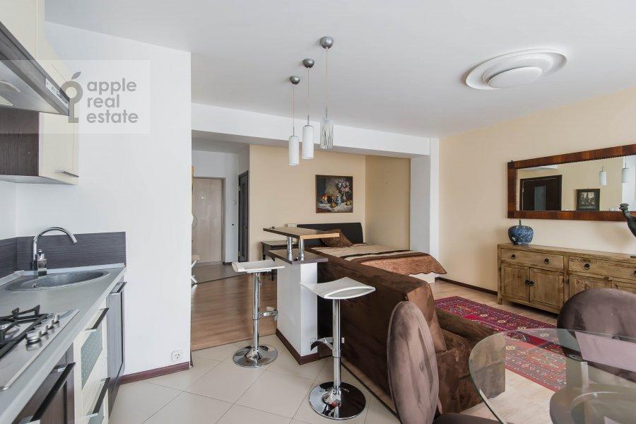 Кухня в 1-комнатной квартире по адресу Девятинский Большой пер. 5