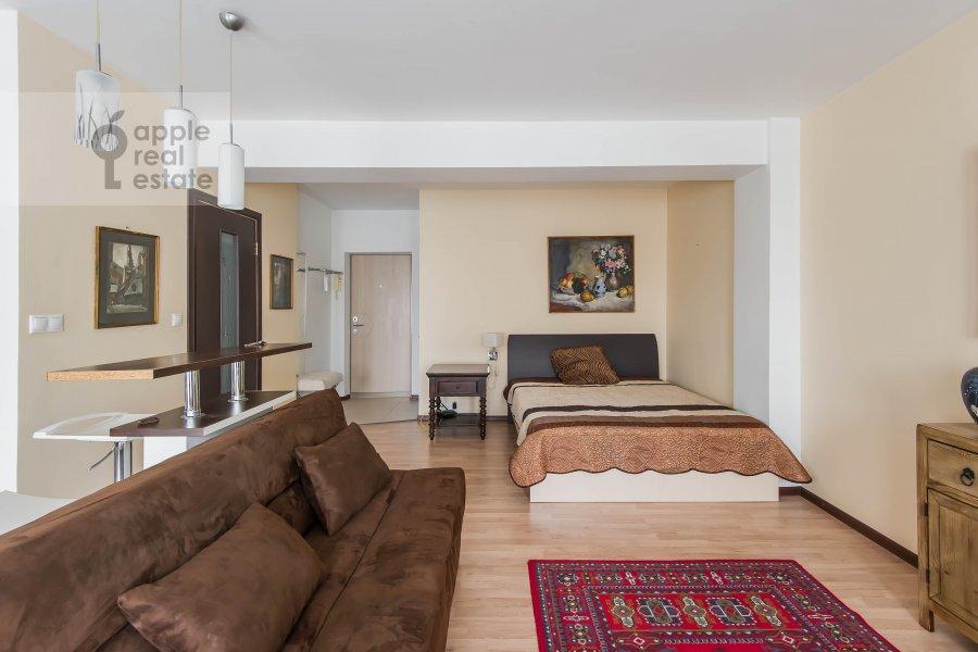 Спальня в 1-комнатной квартире по адресу Девятинский Большой пер. 5