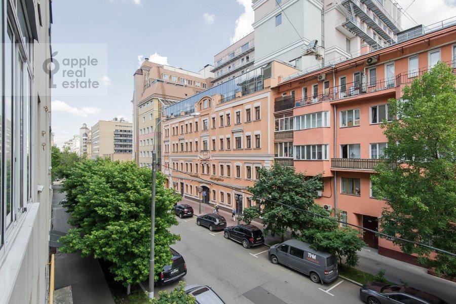 Вид из окна в 3-комнатной квартире по адресу Тверская-Ямская 3-я ул. 21/23