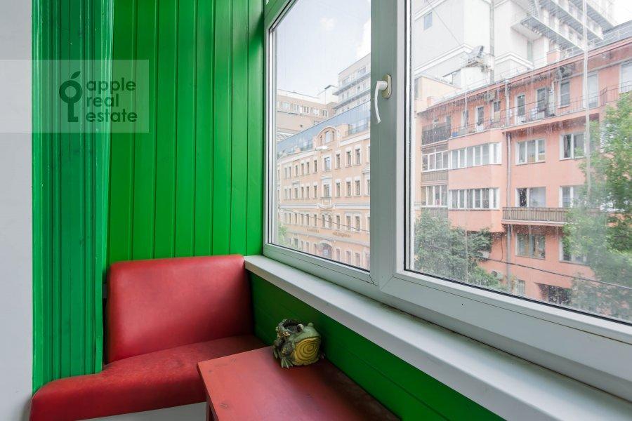 Балкон / Терраса / Лоджия в 3-комнатной квартире по адресу Тверская-Ямская 3-я ул. 21/23