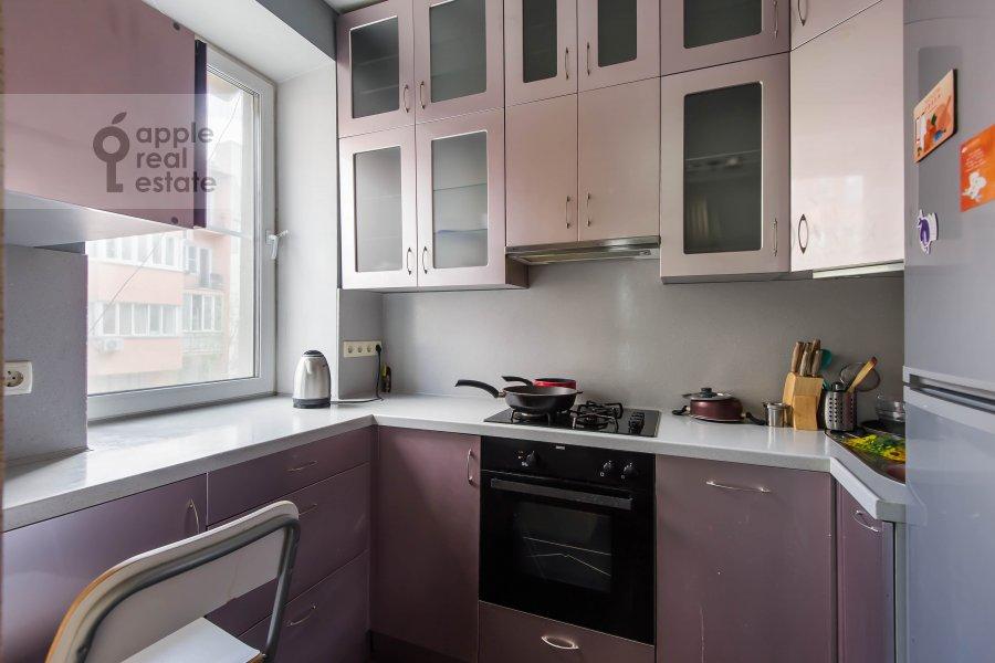 Кухня в 3-комнатной квартире по адресу Тверская-Ямская 3-я ул. 21/23