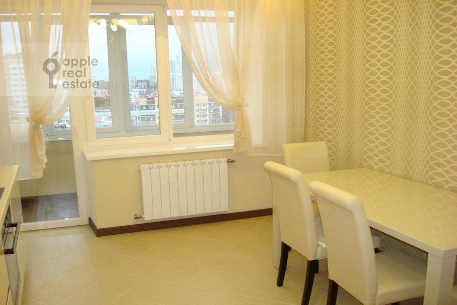Kitchen of the 3-room apartment at Istrinskaya ul. 8k3