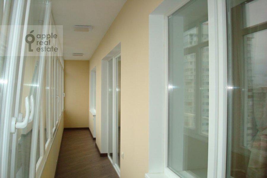 Balcony / Terrace / Loggia of the 3-room apartment at Istrinskaya ul. 8k3