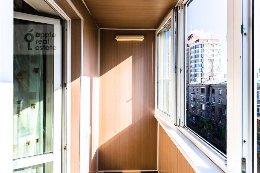 Balcony / Terrace / Loggia of the 3-room apartment at Kuusinena ul. 4Ak4