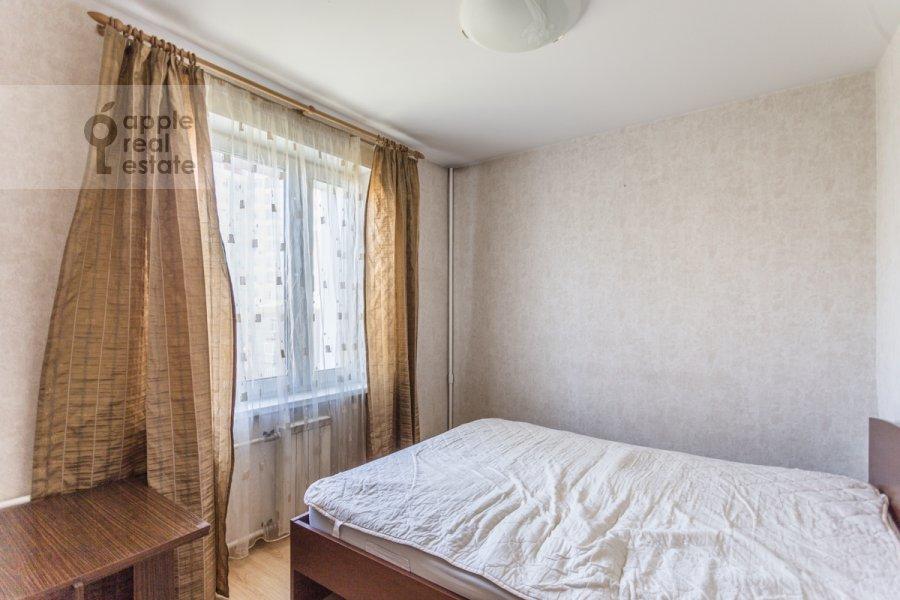 Bedroom of the 3-room apartment at Kuusinena ul. 4Ak4