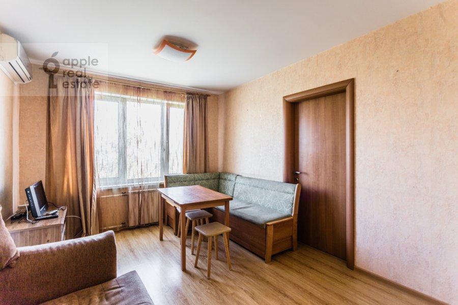 Living room of the 3-room apartment at Kuusinena ul. 4Ak4